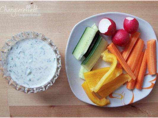 Rezept: Quark-Dip für Gemüse oder Grillgut