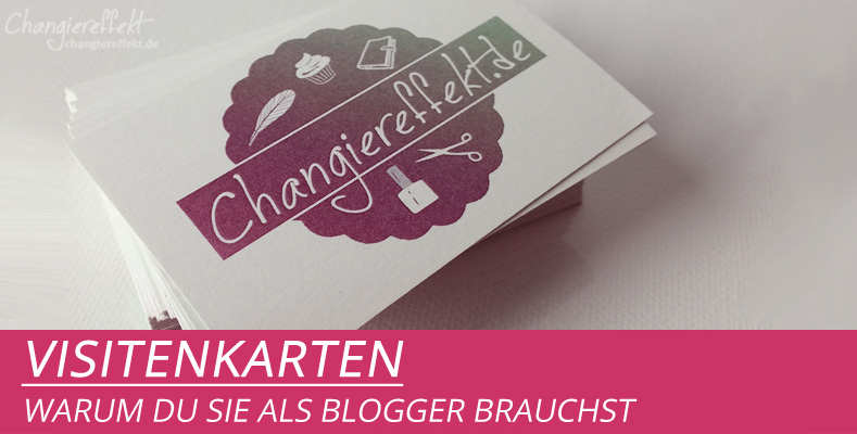 Warum Du Als Blogger Visitenkarten Brauchst Mami Schafft
