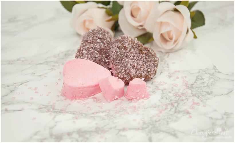 Marshmallow selber machen: Herzen für den Valentinstag