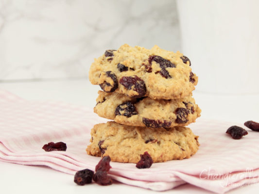 Rezept Cranberry Haferflocken Kekse